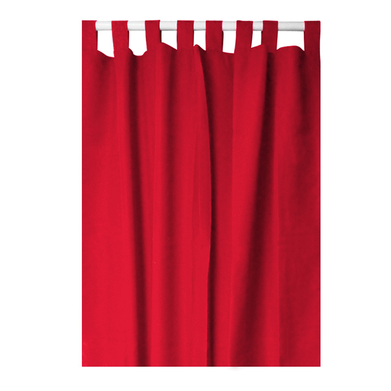 schlaufenschal 140x260cm vorhang gardine mit schlaufen. Black Bedroom Furniture Sets. Home Design Ideas