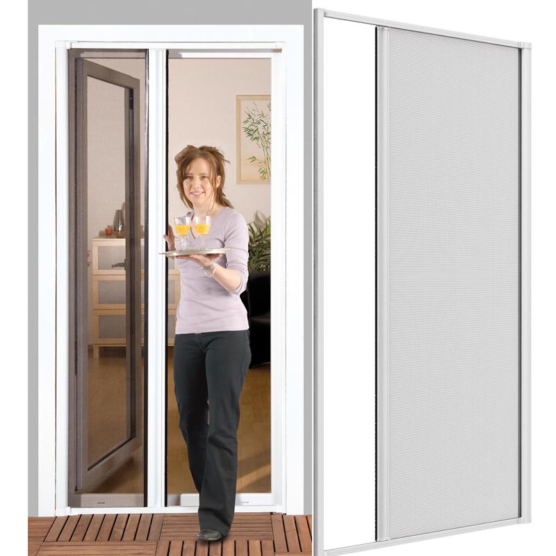 Sehr Gut Insektenschutz Tür Schiebetür 160x220 Rollo-Tür Fliegengitter  TZ89