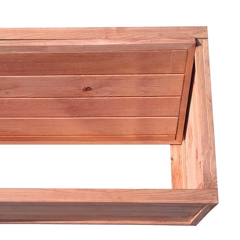 blumenk bel pflanztrog pflanzk bel blumenkasten pflanzkasten pflanzenkasten holz ebay. Black Bedroom Furniture Sets. Home Design Ideas
