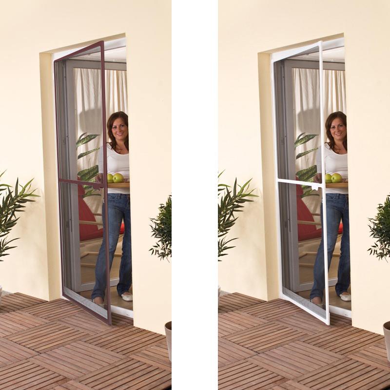 insektenschutz fenster t r fliegen gitter schutzt r alu rahmen m ckenschutz wei. Black Bedroom Furniture Sets. Home Design Ideas