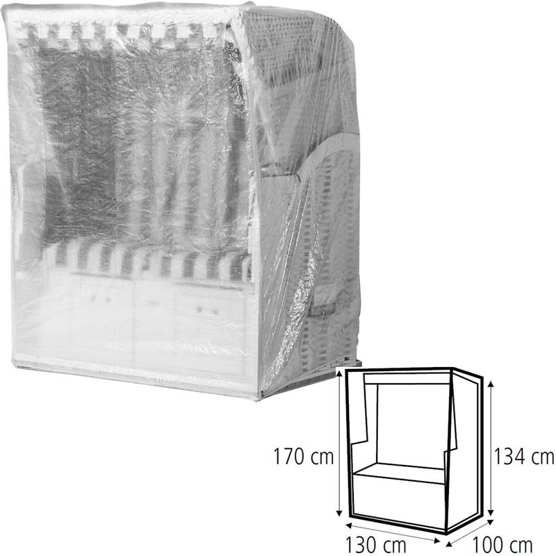 schutzh lle abdeckhaube strandkorb 130 cm breit abdeckung schuthhaube plane ebay. Black Bedroom Furniture Sets. Home Design Ideas