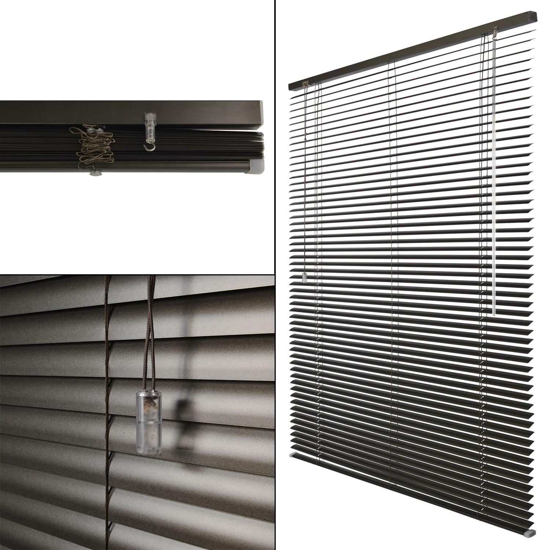 Alu Jalousie Fensterrollo Aluminium Rollo Fenster Klemmfix