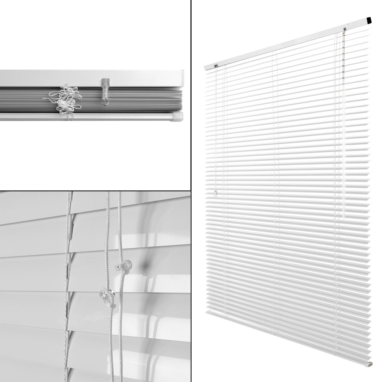 Alu Jalousie Fensterrollo Aluminium Fenster Rollo Klemmfix