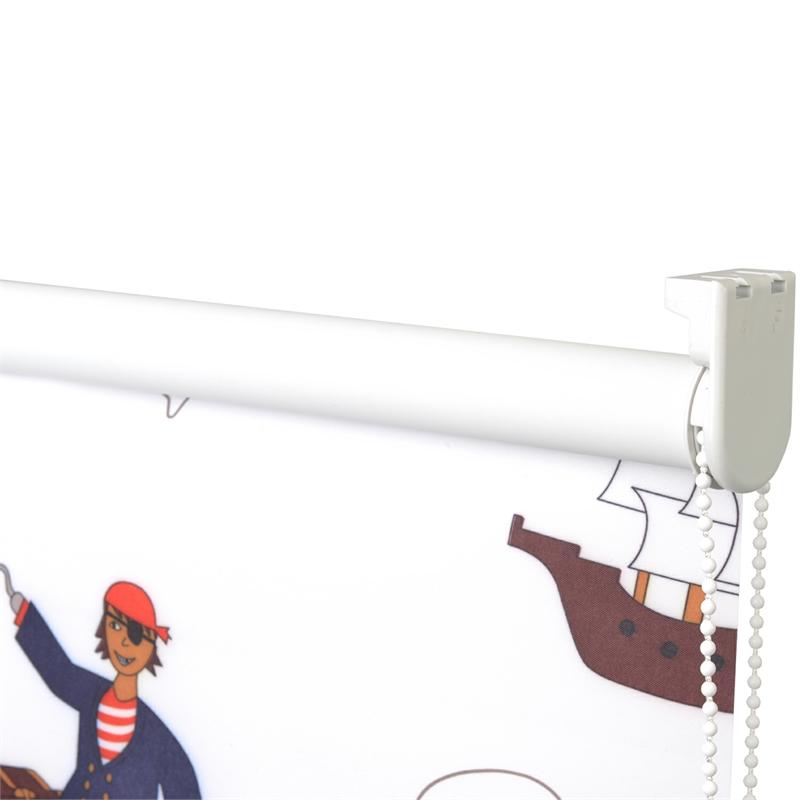 verdunkelungsrollo piraten prinzessin kinderzimmer fensterrollo jalousie rollo ebay. Black Bedroom Furniture Sets. Home Design Ideas