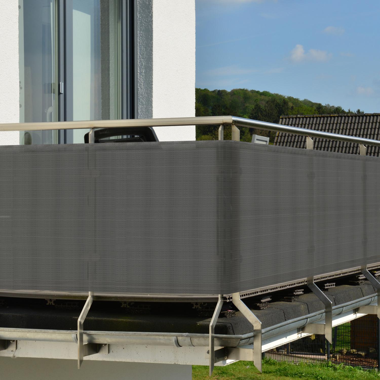 Balkon Sichtschutz Balkonschutz 3m 5m Zaun Windschutz Sichtblende