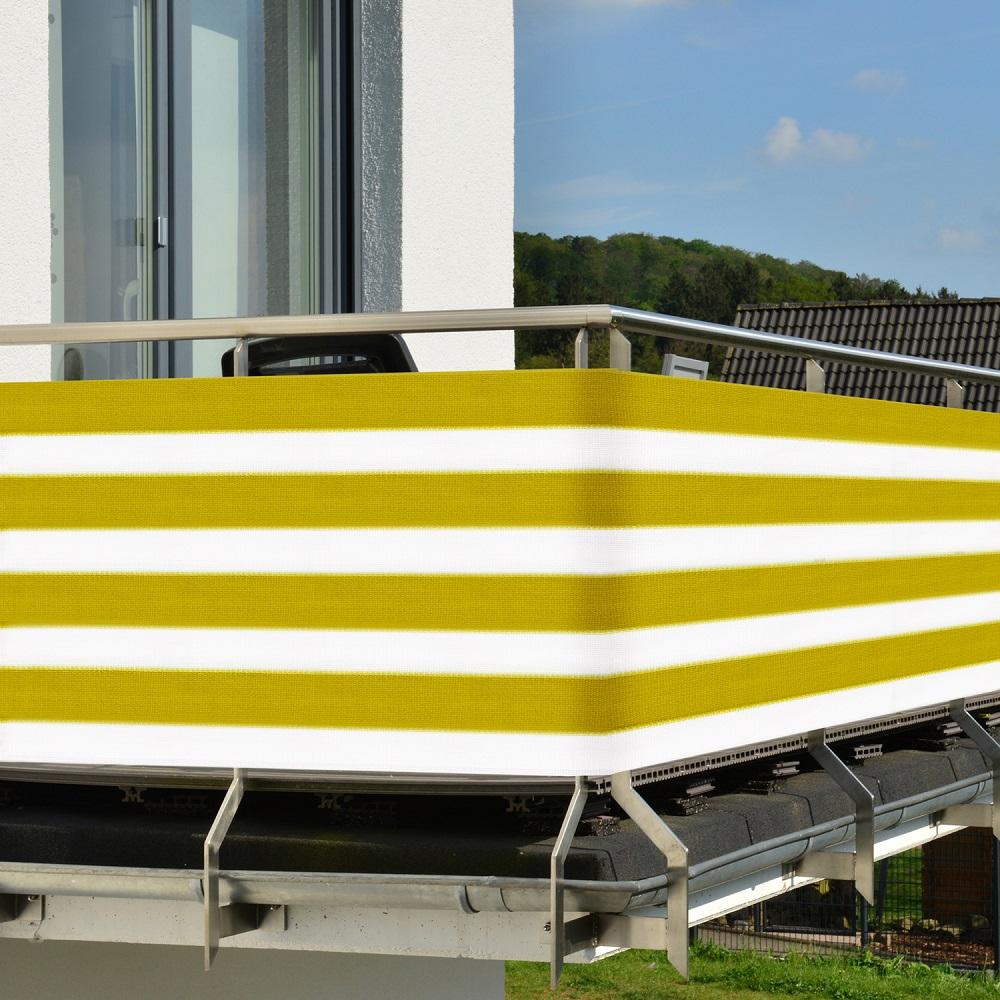 Sichtschutz Balkonschutz 3m 5m Zaun Windschutz Balkon Sichtblende