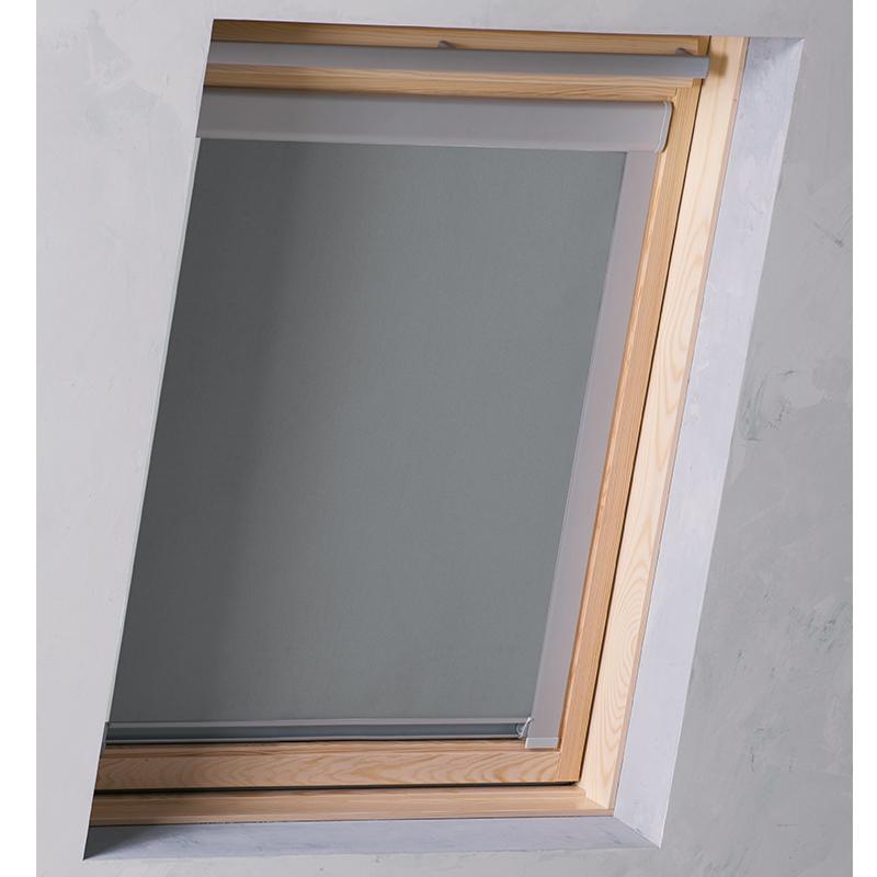 dachfenster rollo f r velux ggu gpu gxu gxl verdunkelungsrollo thermorollo ebay. Black Bedroom Furniture Sets. Home Design Ideas