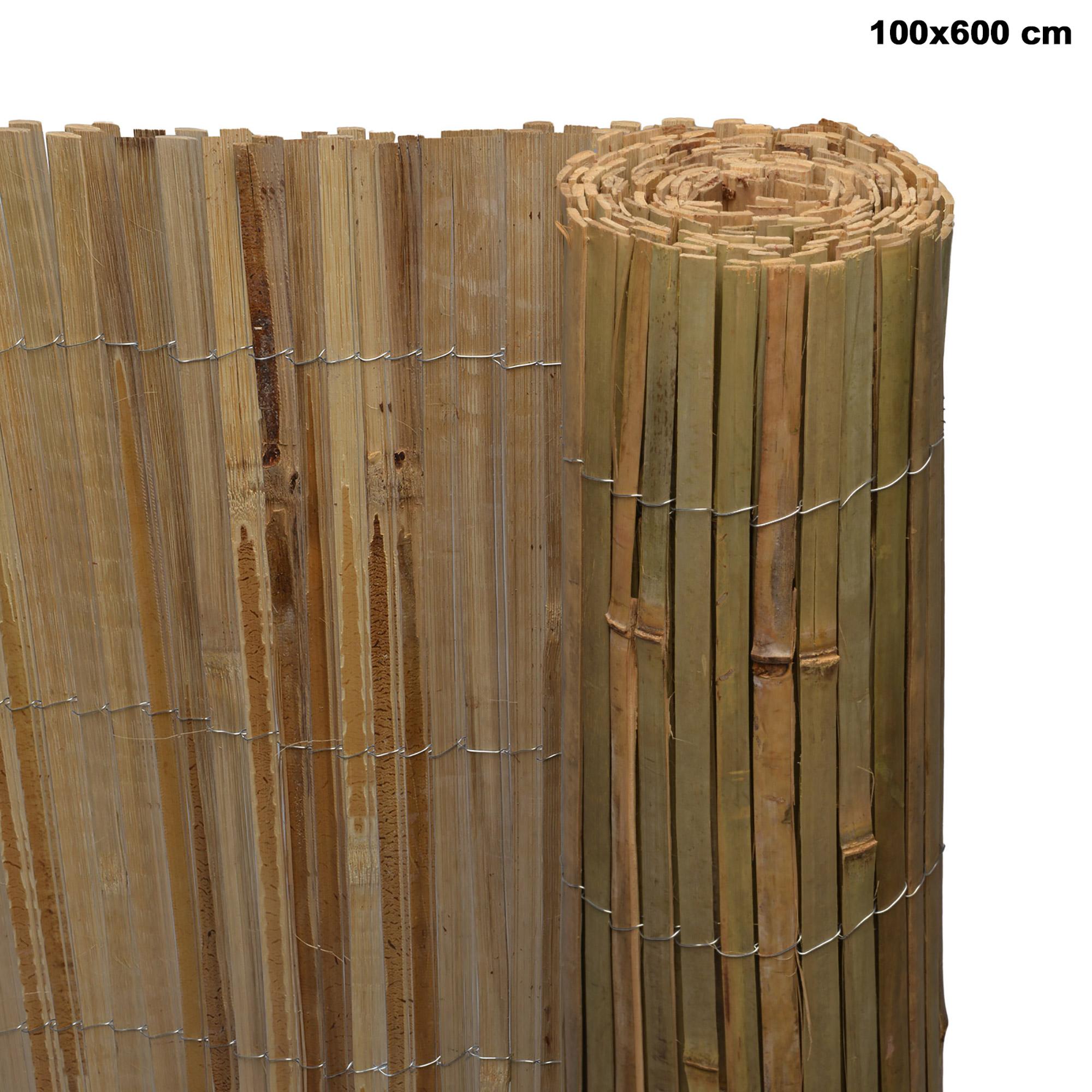 Sichtschutz Bambus Sichtschutzzaun Sichtschutzmatte Balkon Garten