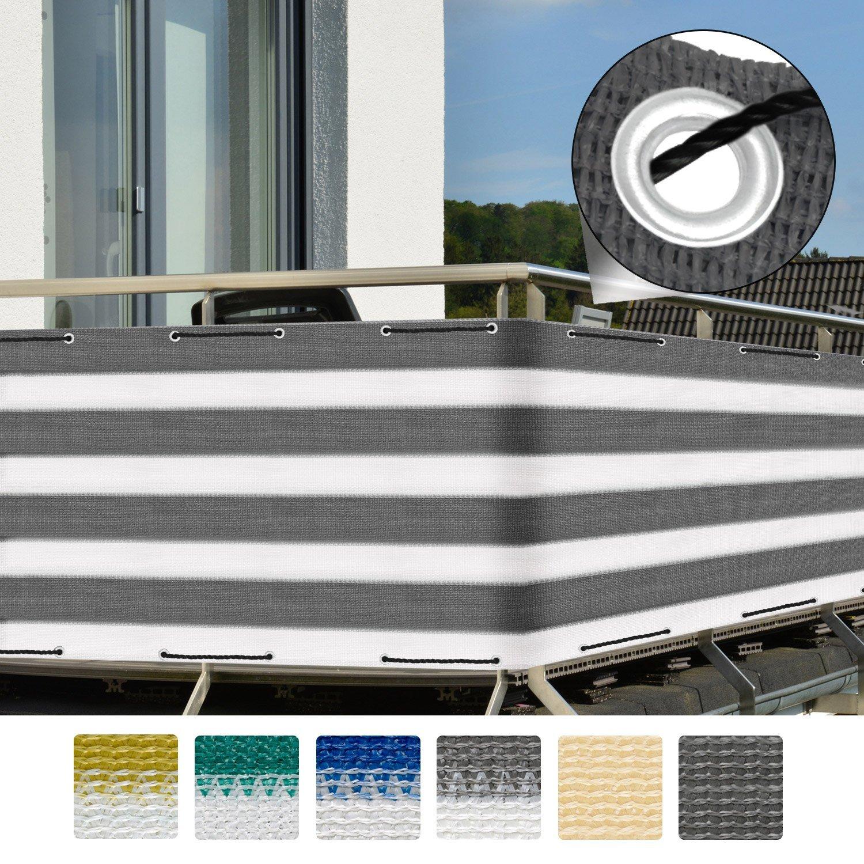 balkonsichtschutz 500x90 balkonverkleidung. Black Bedroom Furniture Sets. Home Design Ideas