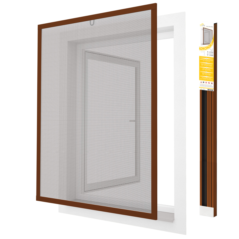 fliegengitter insektenschutz fenster m ckenschutz alurahmen bausatz gitter ebay. Black Bedroom Furniture Sets. Home Design Ideas