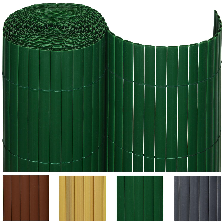 sichtschutzzaun pvc sichtschutzmatte sichtschutz windschutz balkon garten zaun ebay. Black Bedroom Furniture Sets. Home Design Ideas