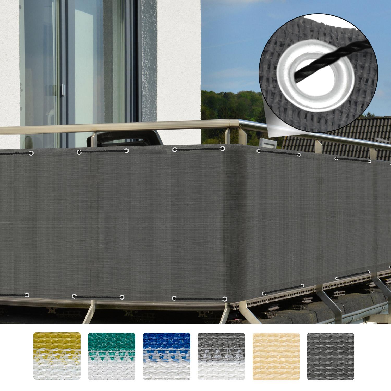 balkon sichtschutz zaun windschutz balkonsichtschutz. Black Bedroom Furniture Sets. Home Design Ideas