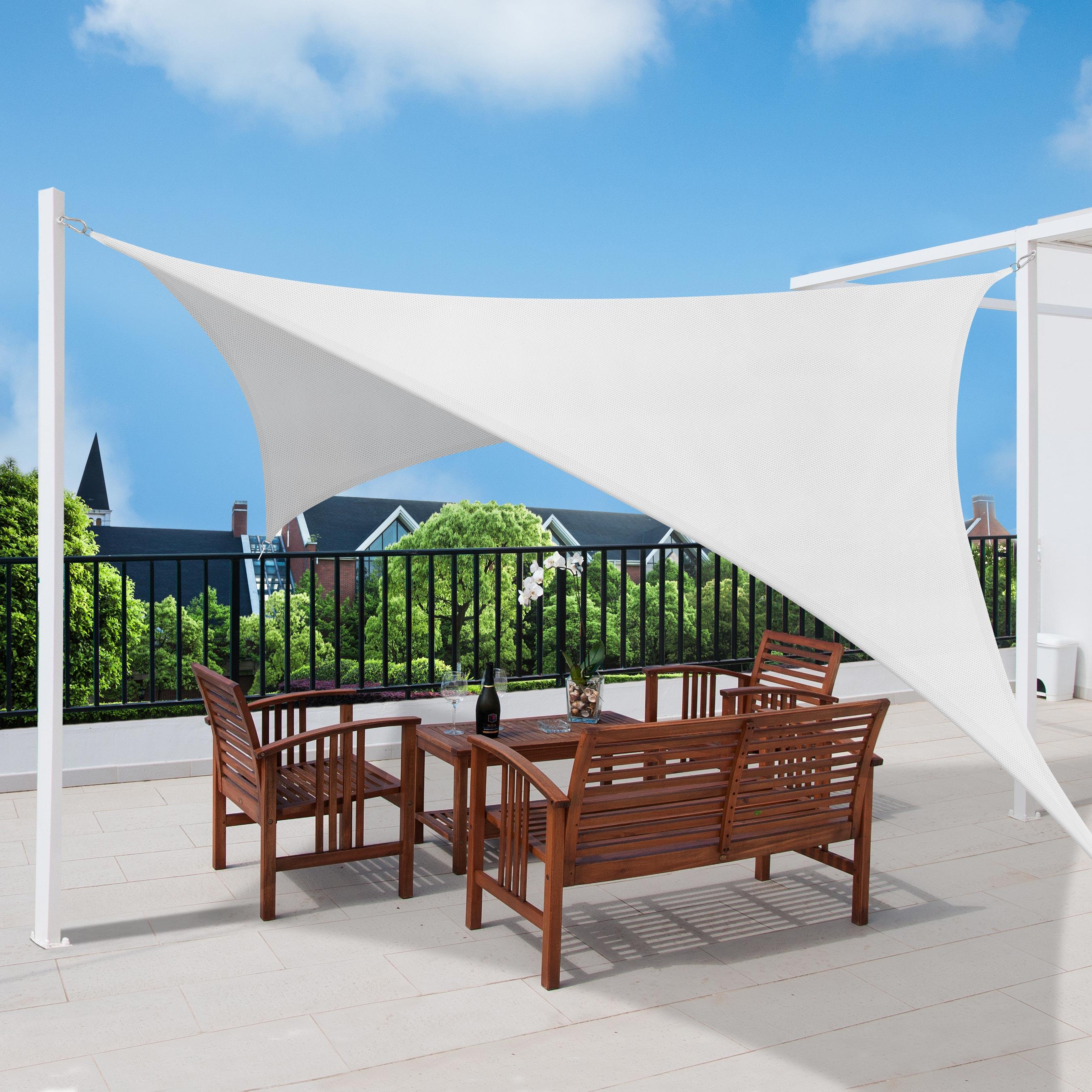 sonnensegel rechteck sonnenschutz rechteckig uv schutz. Black Bedroom Furniture Sets. Home Design Ideas