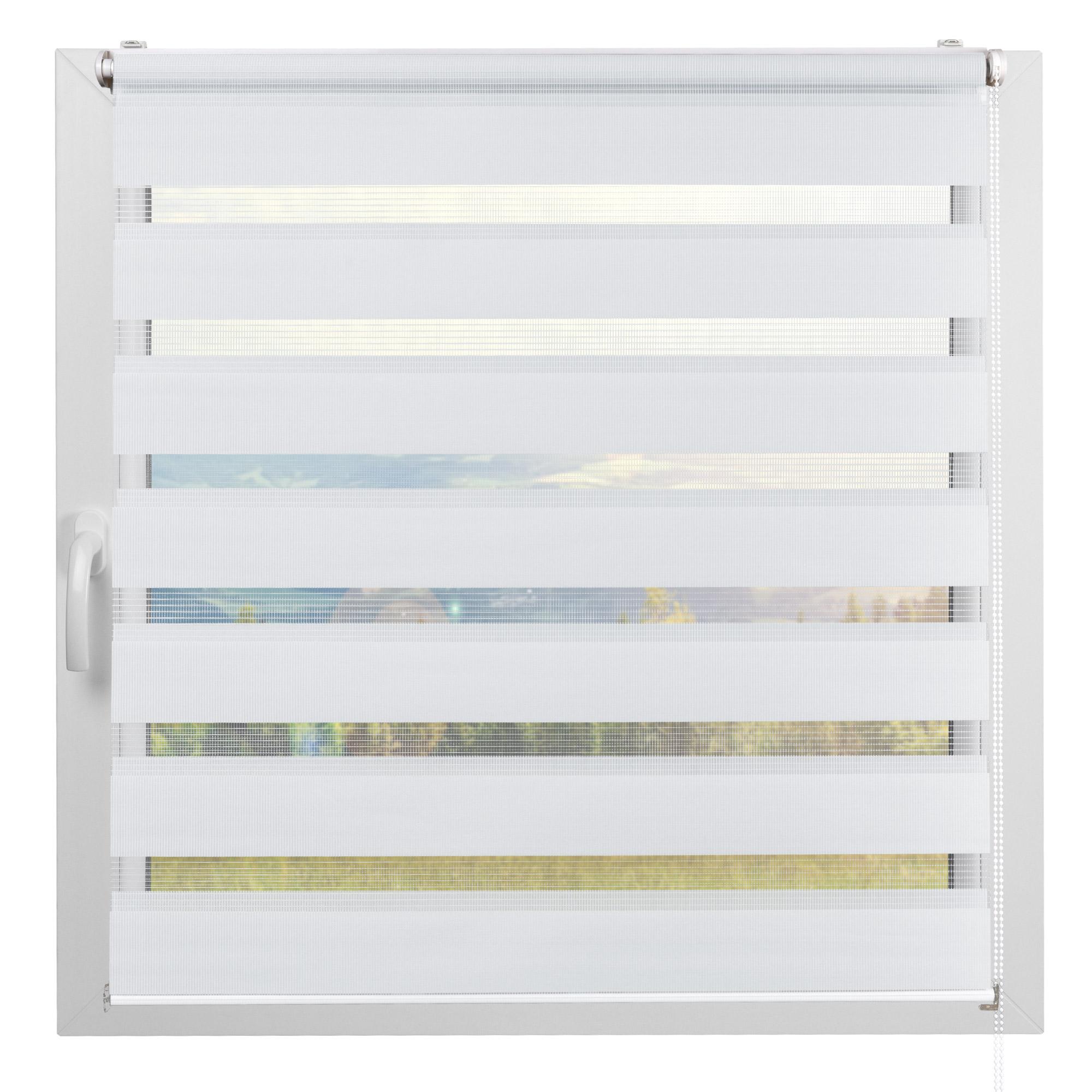 70x120cm Fensterrollo Klemmfix Duo-Rollo Doppelrollos Klemmrollo ohne Bohren DE