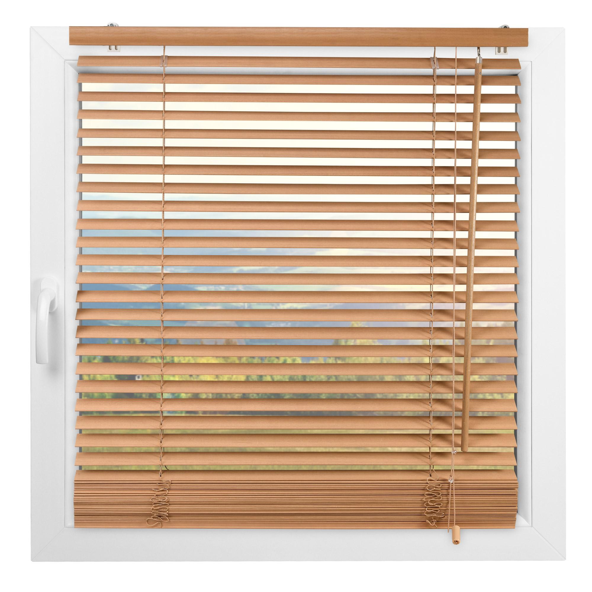 Indexbild 13 - Jalousie Fenster Tür Rollo Jalousette Schalusie Vorhang Schnurzug Jalusie Holz